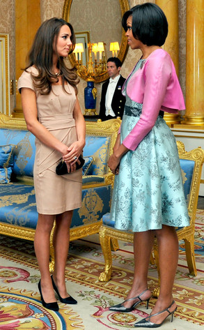 Kate Middleton, Michelle Obama