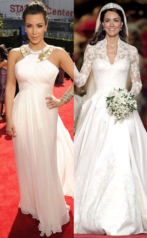 Kim Kardsahian, Kate Middleton
