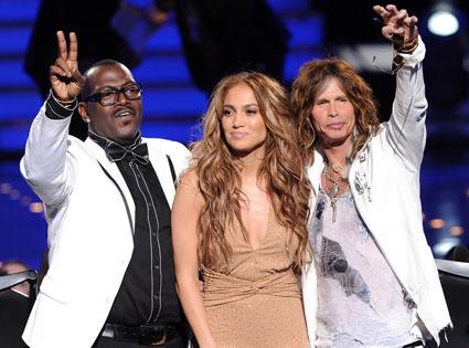 Randy Jackson, Jennifer Lopez, Steven Tyler, American Idol