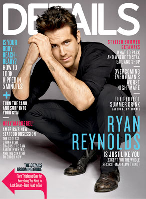 Ryan Reynolds, Details Cover