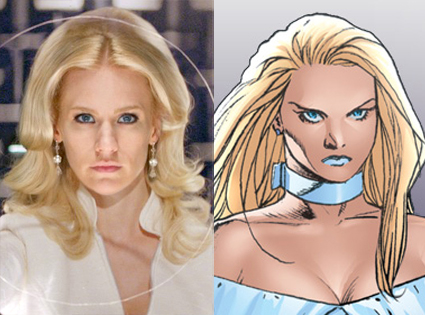 Emma Frost, X-Men First Class, Comic