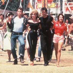 Jeff Conaway, Olivia Newton-John, John Travolta, Stockard Channing
