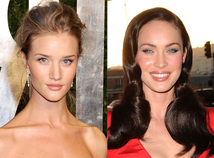 Rosie Huntington-Whiteley, Megan Fox