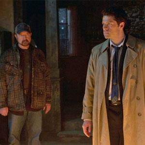 Misha Collins, Jim Beaver, Supernatural