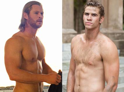 Chris Hemsworth, Thor, Liam Hemsworth, The Last Song
