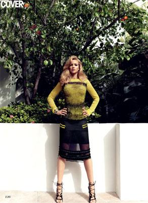 Jennifer Lawrence, Flare Magazine
