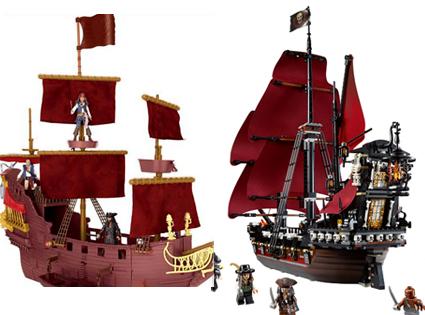 Caribbean Ship, Lego Pirate Ship, Toys