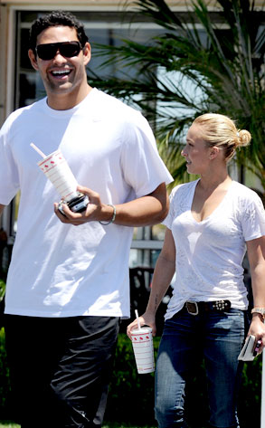 Hayden Panettiere, Mark Sanchez