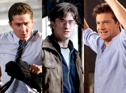 Transformers Dark Side of the Moon, Harry Potter and the Deathly Hallows Part 2, Horrible Bosses