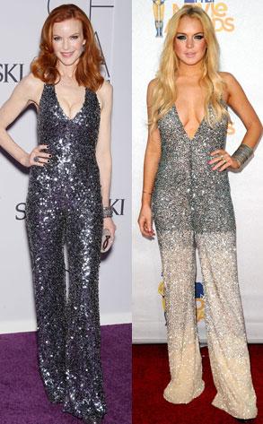 Marcia Cross, Lindsay Lohan