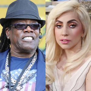 Clerence Clemons, Lady Gaga
