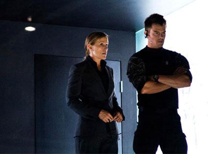 Frances McDormand, Josh Duhamel, Transformers Dark of the Moon