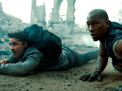 Shia LaBeouf, Tyrese Gibson, TRANSFORMERS DARK OF THE MOON