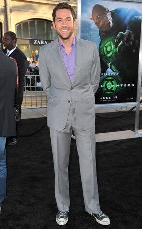 Zachary Levi, Green Lantern Premiere