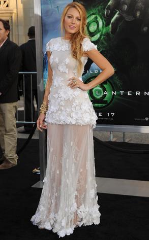 Blake Lively, Green Lantern Premiere