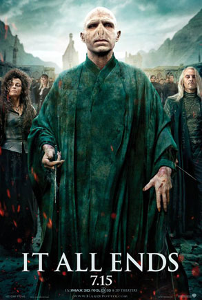 Harry Potter, Voldemort, It All Ends Poster