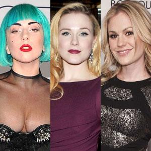 Lady Gaga, Evan Rachel Wood, Anna Paquin