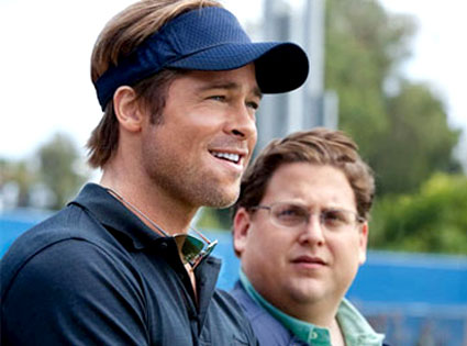 Brad Pitt, Jonah Hill, Moneyball