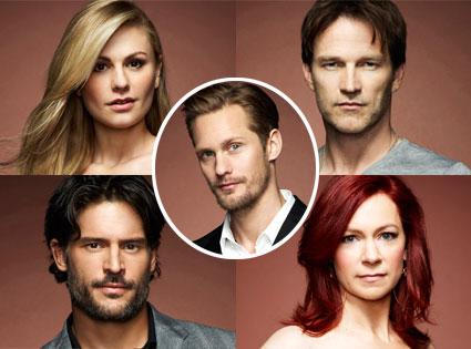 True Blood, Anna Paquin, Stephen Moyer, Joe Manganiello, Carrie Preston, Alex Skarsgard