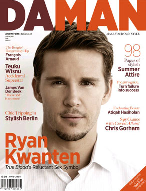 Ryan Kwanten, Daman Magazine