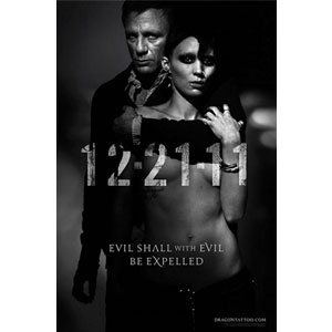 Daniel Craig, Rooney Mara, The Girl with the Dragon Tattoo poster