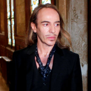 John Galliano Stripped of Top French Medal