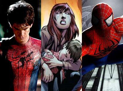 Andrew Garfield, Spider-Man, Ultimate Spider-Man, Spider-Man the Broadway Show