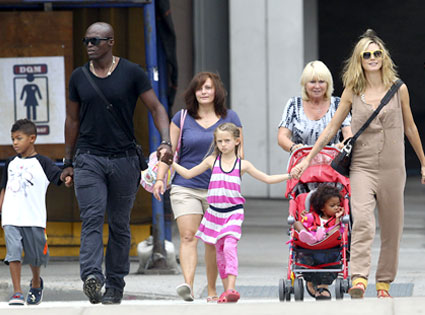 All of the Family from Heidi Klum & Seal: Romance Rewind ...