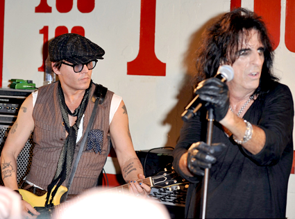 Alice Cooper, Johnny Depp