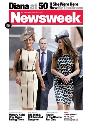 Princess Diana, Duchess Catherine, Kate Middleton, Newsweek Cover