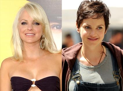 Anna Faris, Blonde, Brunette
