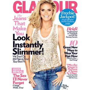 Heidi Klum, Glamour Cover
