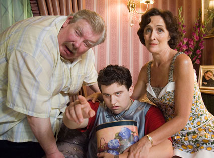 Harry Potter, The Dursleys, Richard Griffiths, Fiona Shaw, Harry Melling