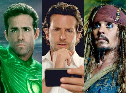 Green Lantern, Hangover 2, Pirates of the Caribbean
