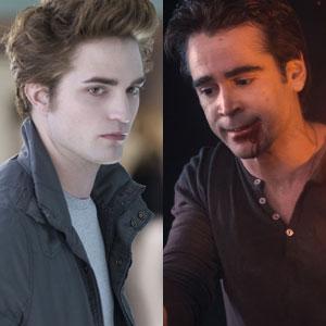 Colin Farrell, Rob Pattinson, Friday Night, Twilight