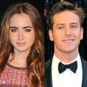 Lily Collins, Armie Hammer