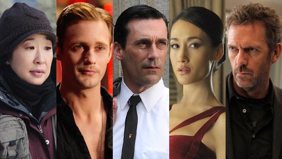 Tater Tops 2011 Best Drama, Nikita, Mad Men, True Blood,  House, Grey's Anatomy