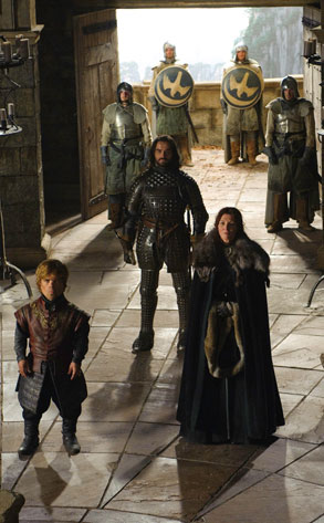 Peter Dinklage, Michelle Fairley, Jamie Sives, Game Of Thrones
