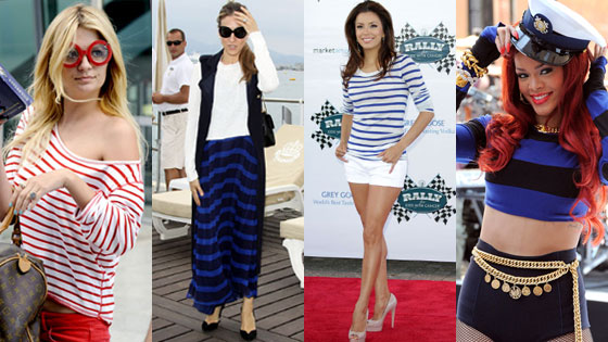 Mischa Barton, Sarah Jessica Parker, Eva Longoria, Rihanna