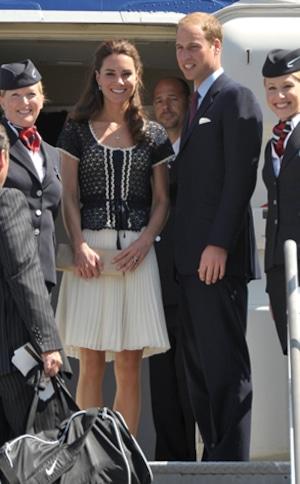 Catherine, Duchess of Cambridge and Prince William