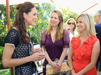 Reese Witherspoon, Catherine Duchess of Cambridge, Kate Middleton