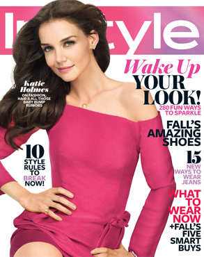Katie Holmes, InStyle