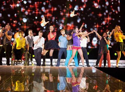 Glee, Movie, 3D, Cast