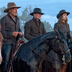 Daniel Craig, Harrison Ford, Olivia Wilde, Cowboys and Aliens