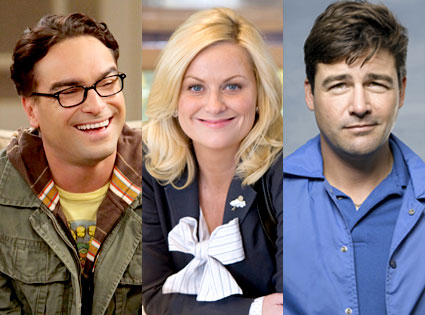 Johnny Galecki, Big Bang Theory, Amy Poehler, Parks and Recreation, Kyle Chandler, Friday Night Lights
