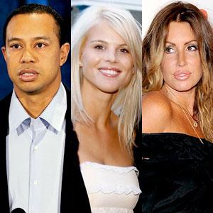 Tiger Woods, Elin Nordegren, Rachel Uchitel