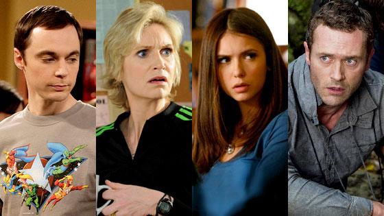 Jim Parsons, The Big Bang Theory, Jane Lynch, Glee, Nina Dobrev, The Vampire Diaries, Jason O'Mara, Terra Nova