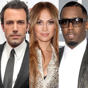 Ben Affleck, Jennifer Lopez, Diddy, Sean Combs, Puff Daddy