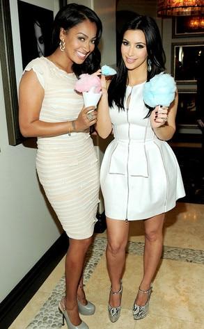 LaLa Vasquez, Kim Kardashian