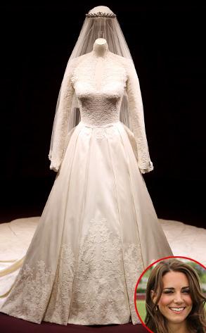 Vestiti Da Sposa Kate Middleton.Ora Potete Vedere Da Vicino L Abito Da Sposa Di Kate Middleton